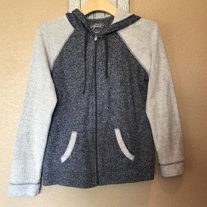 Style & Co. Hoodie Zip-Up Medium Sweater